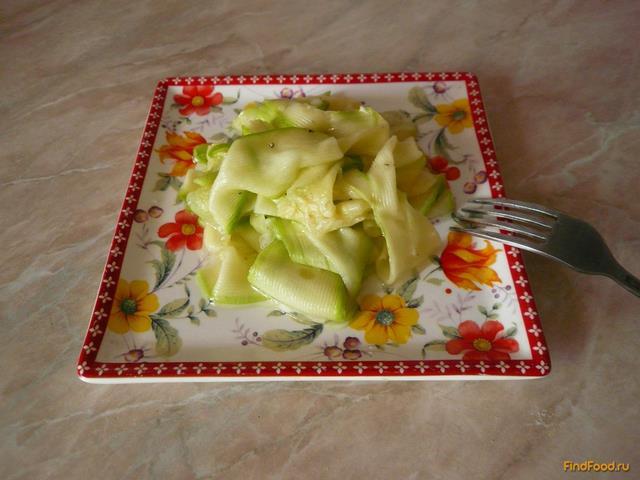 Рецепт Кабачки в медово - чесночном маринаде рецепт с фото