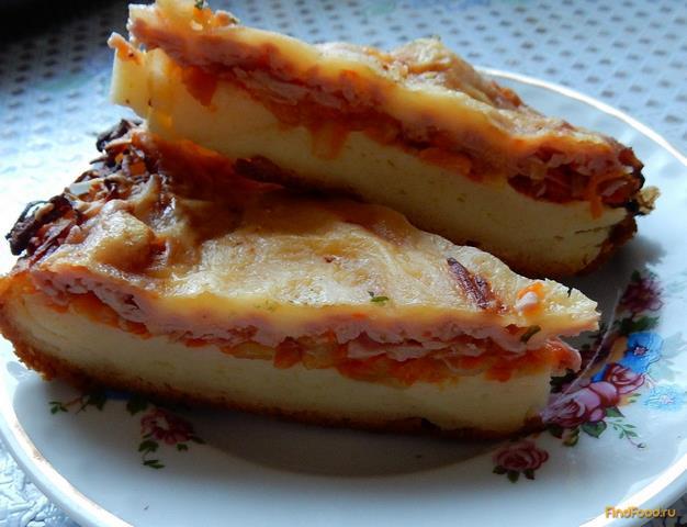 Рецепт Пицца Минутка рецепт с фото
