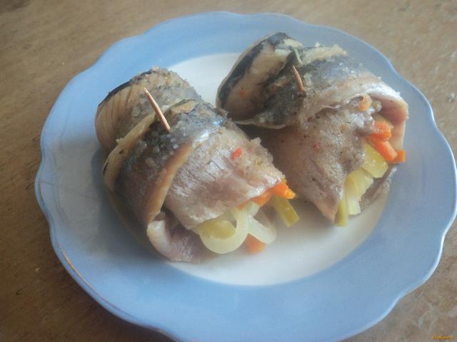 рецепт рулета из сельди с морковкой