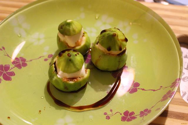 Рецепт Закуска из инжира с сыром рецепт с фото