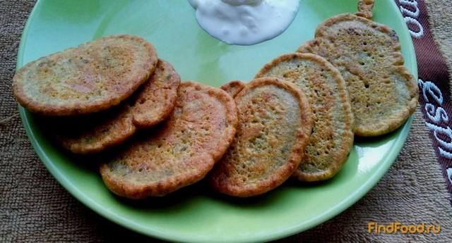 Рецепт Пудла - гороховые оладьи рецепт с фото
