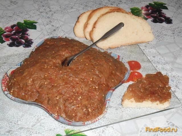 Рецепт Икра баклажанная рецепт с фото