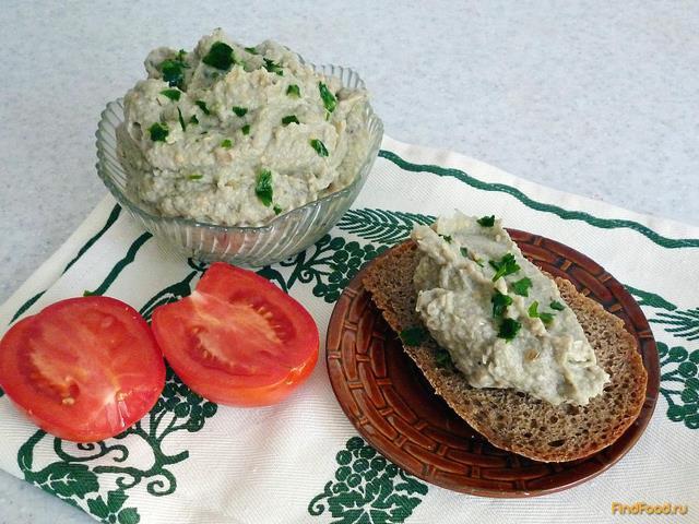 Рецепт Паштет из баклажанов с грибами рецепт с фото