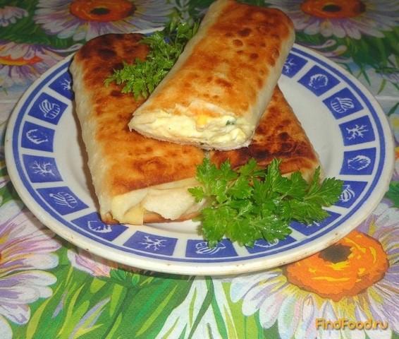 Рецепт Рулеты из лаваша с творогом рецепт с фото