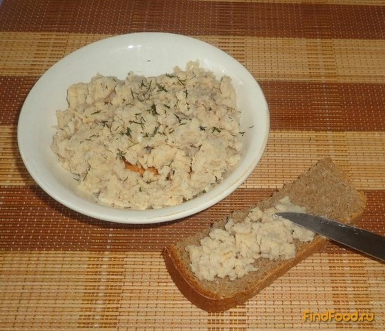 Рецепт Паштет из рыбы и сыра рецепт с фото