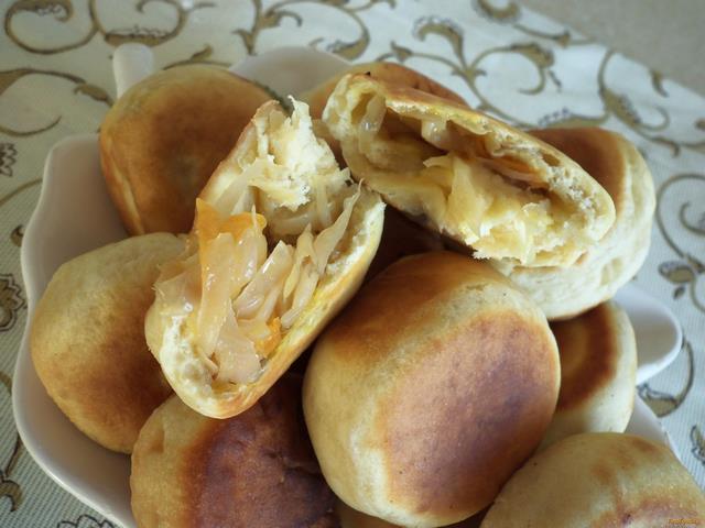 рецепт пирожков дрожжевых в духовке дрожжами
