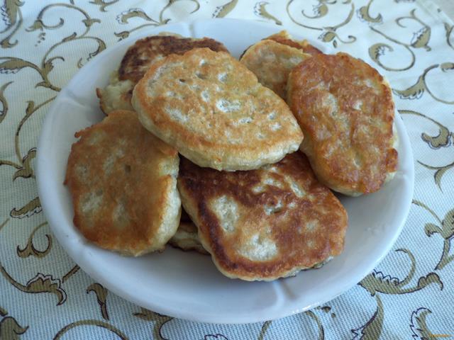 постные рецепты оладьи с яблоками