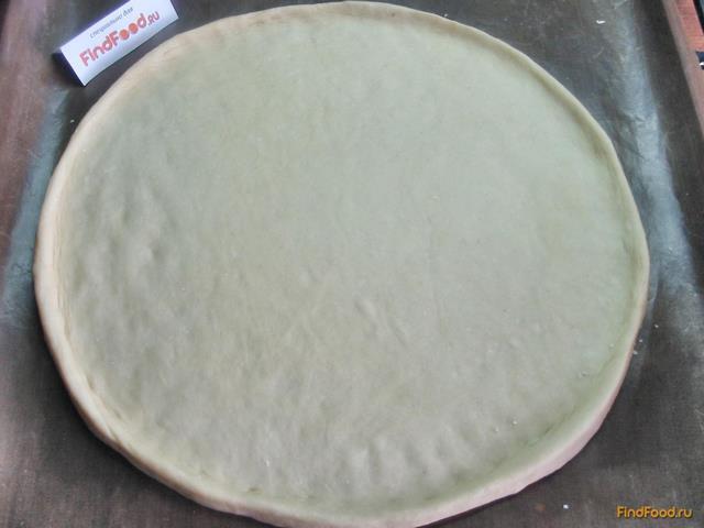 Тесто тонкое на кефире на пиццу
