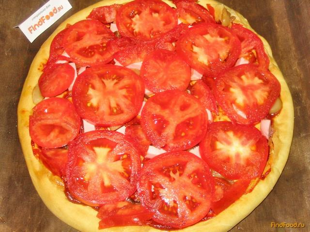 Рецепт пиццы в духовке на кефире пошаговый рецепт с в