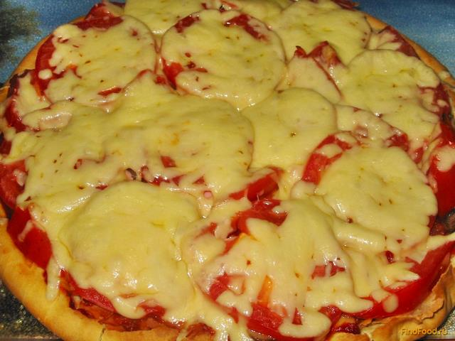 Рецепт пиццы на кефире рецепт с фото пошагово