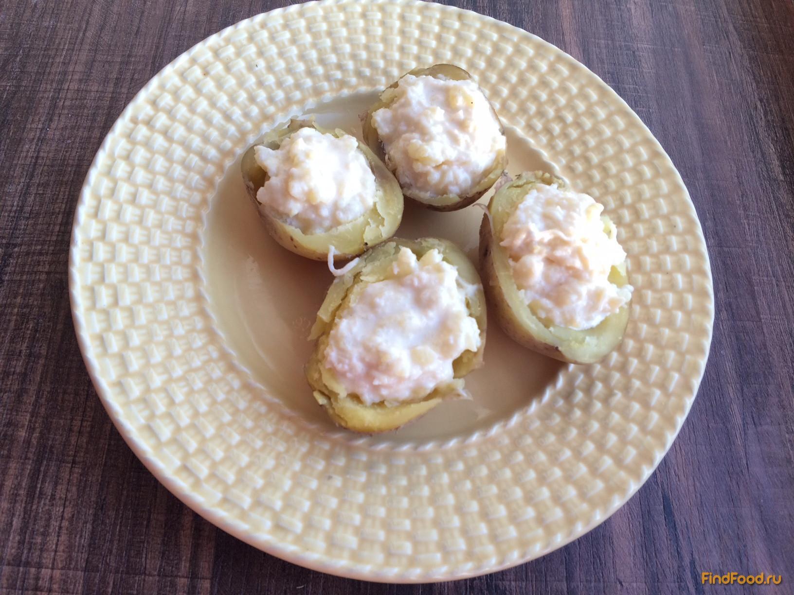 Рецепт картофельные лодочки с сыром