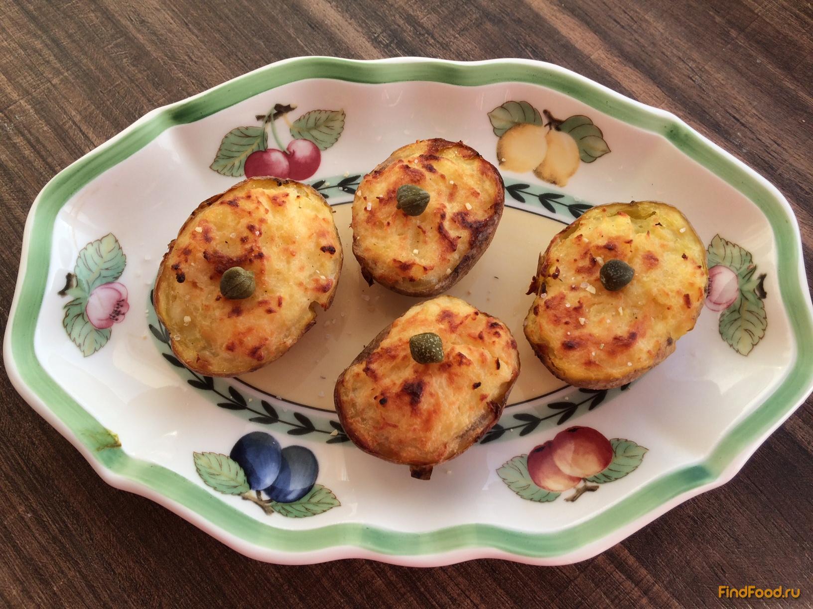 картофельные лодочки в духовке рецепты с фото