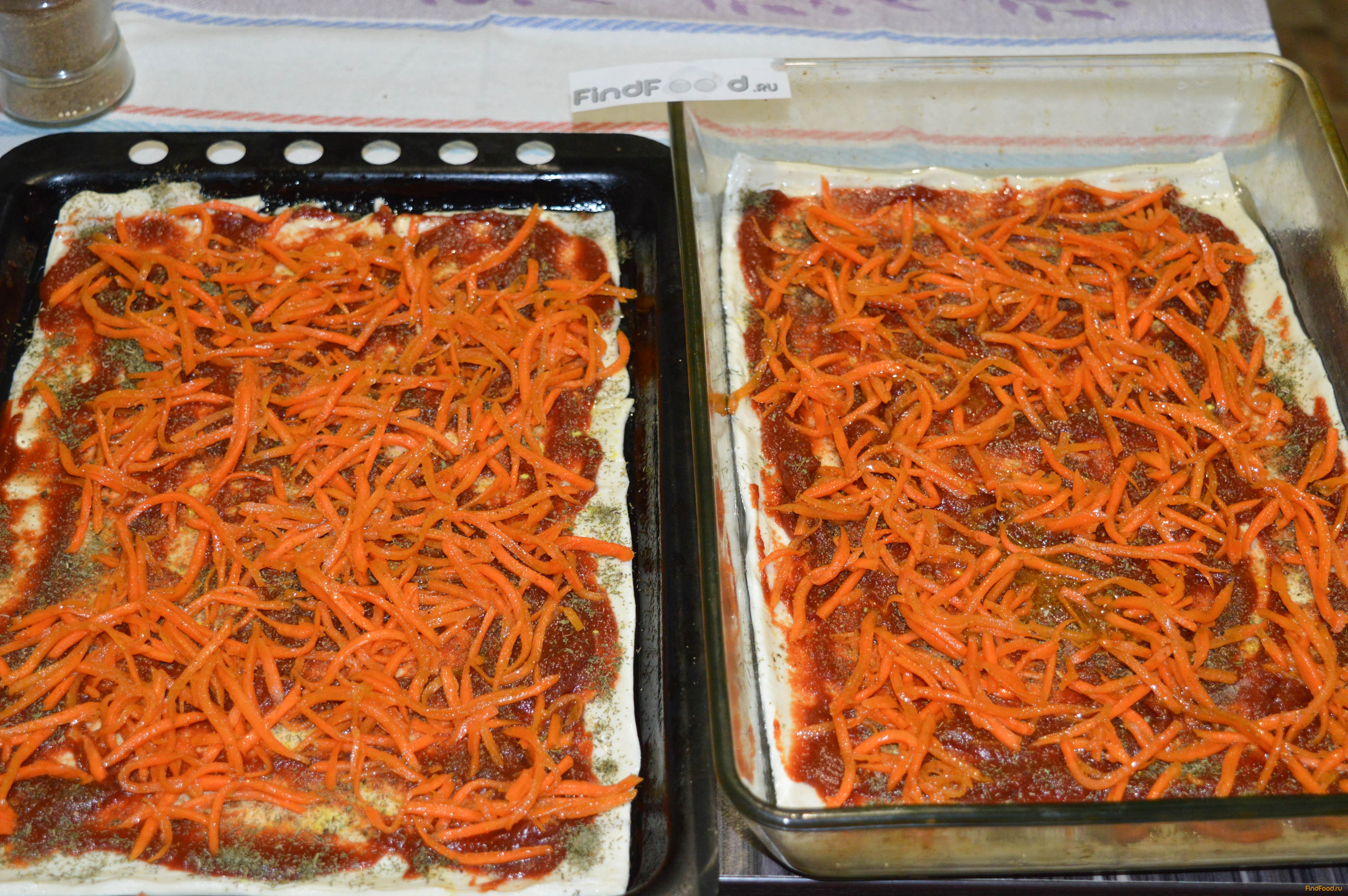 домашняя пицца в духовке рецепты