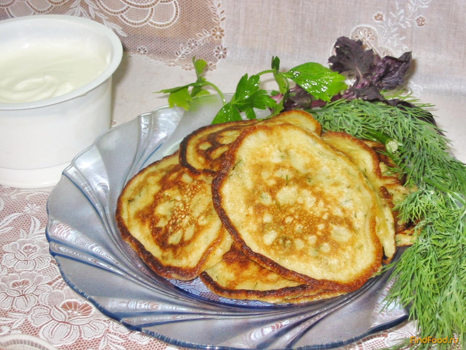 Рецепт оладий в домашних условиях