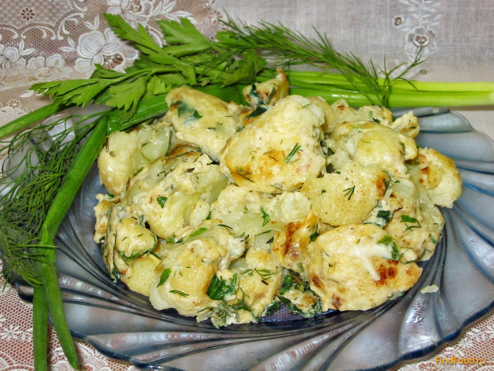 рецепт жарки цветной капусты