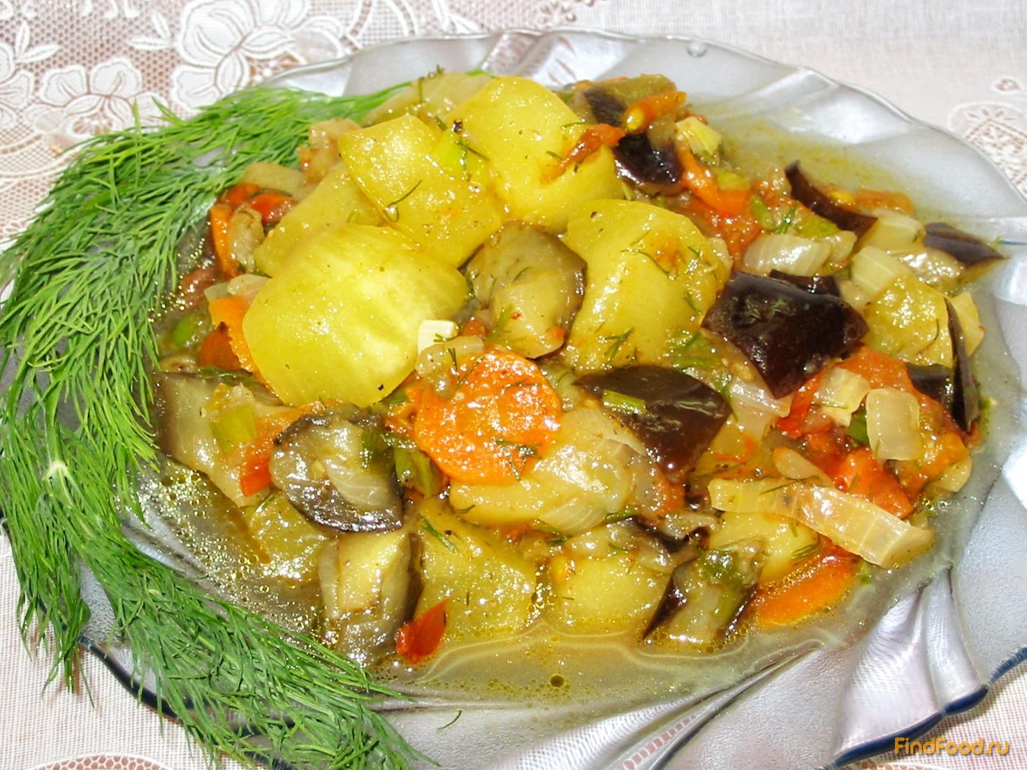 Рецепты из баклажан и кабачков пошагово