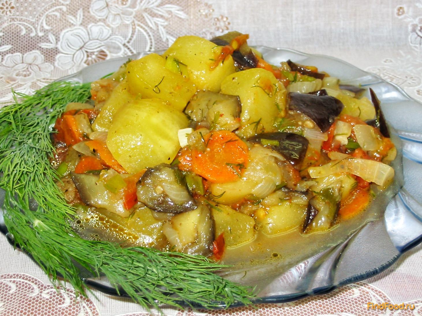 рецепт из баклажанов с фото