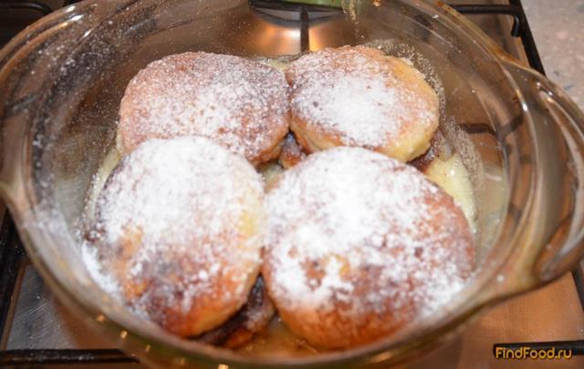 Пончики из сгущёнки рецепт с фото