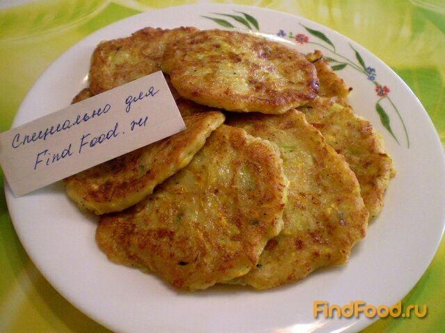 Рецепт оладьев из кабачков с сыром с пошагово в