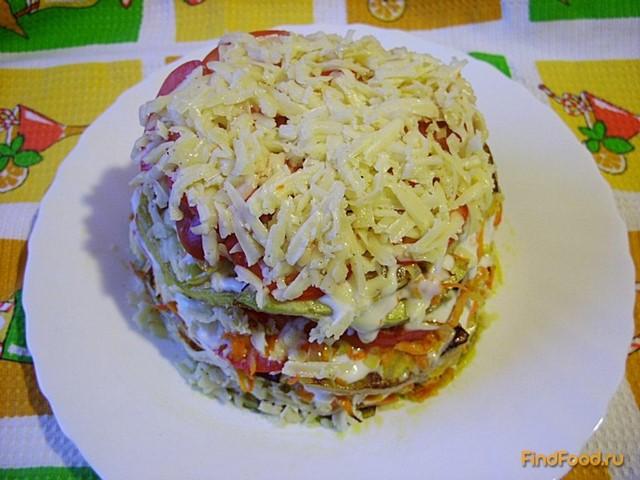 Кабачковый торт низкокалорийный рецепт