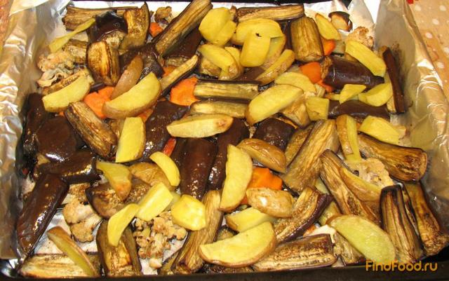 баклажаны печеные в духовке рецепт с фото