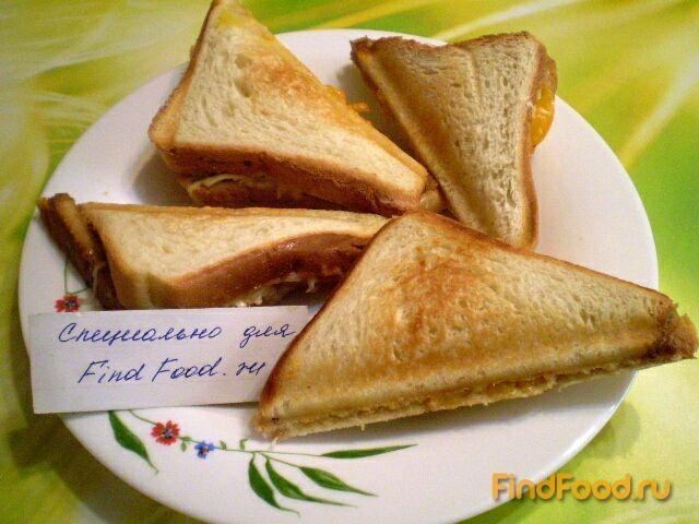 Сэндвич в сэндвичнице рецепты 100