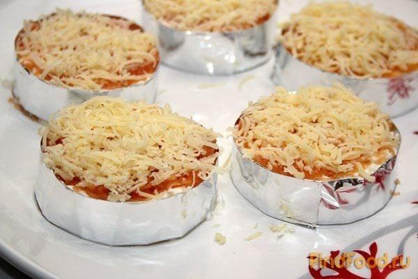 Мимоза рецепт порционный