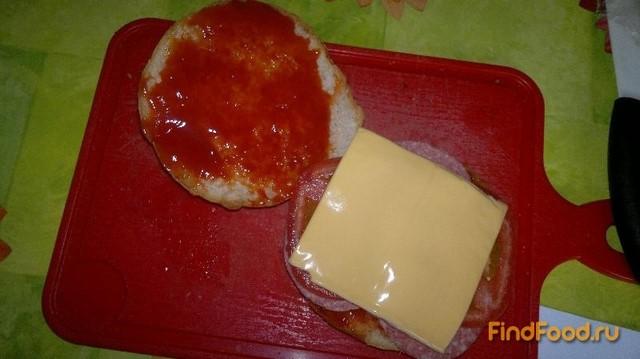 Как сделать гамбургер в домашних условиях рецепт из колбасы