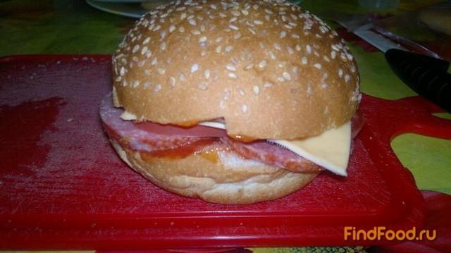 Домашних гамбургеров пошагово с фото