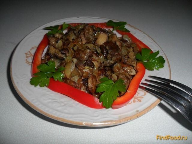 Салат жареный рецепт с пошагово в