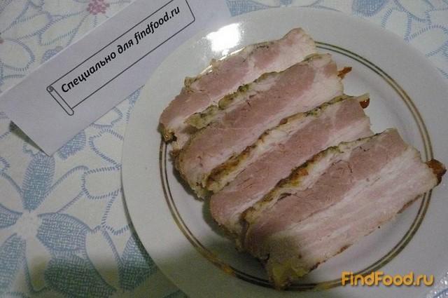 грудинка свиная рецепт в пакете