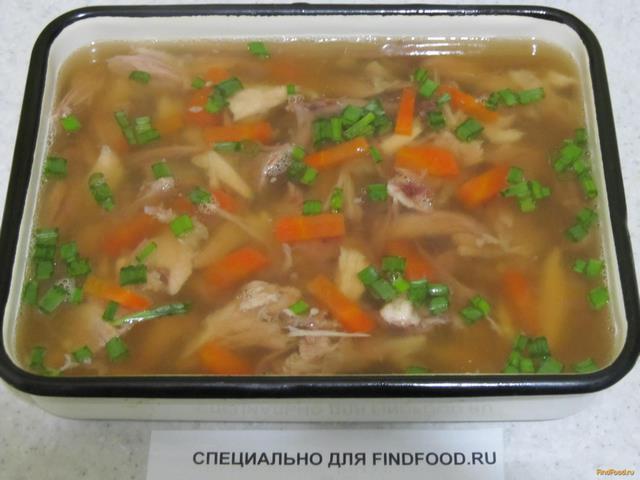 Холодец со свиной рулькой и курицей рецепт с фото 11-го шага