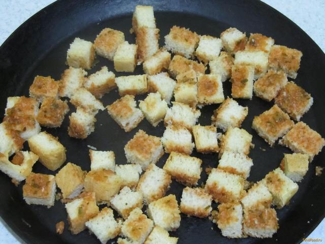 Как из хлеба сделать сухарики на сковороде 104
