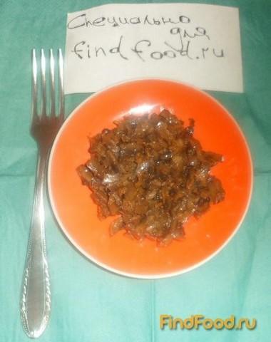 Жареные шампиньоны с морковью и луком рецепт с фото 4-го шага