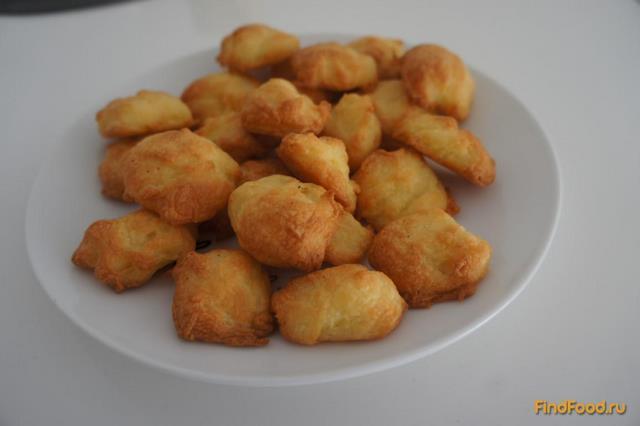 Рецепт Закуска сырные профитроли рецепт с фото