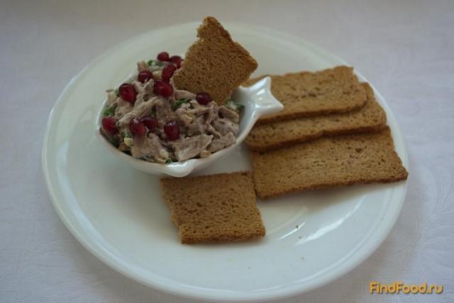 Рецепт Закуска из языка по-грузински рецепт с фото