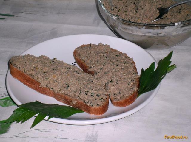 Рецепт Паштет из печени говядины рецепт с фото