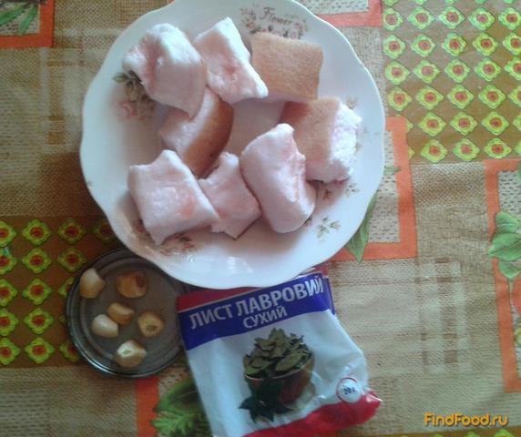 Соленое сало с чесноком рецепт с фото 1-го шага