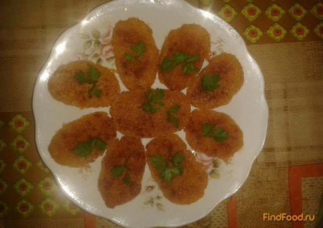 Рецепт Жареные морковные котлетки рецепт с фото