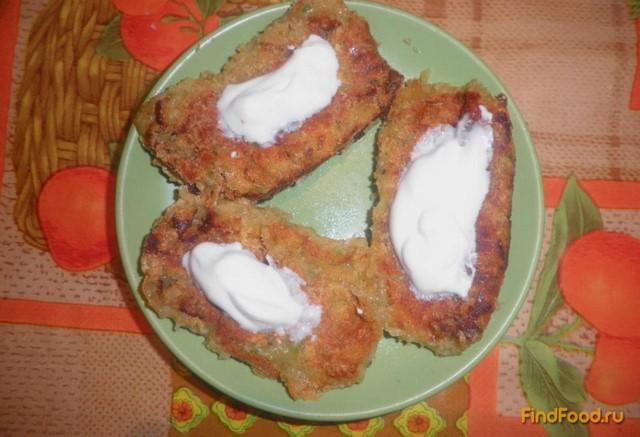 Рецепт Картофельно- капустные котлеты рецепт с фото