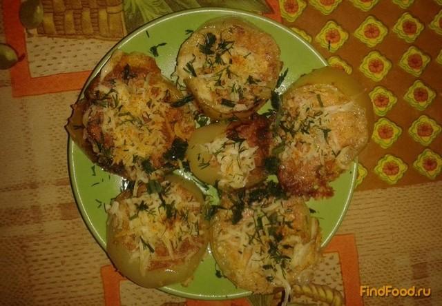 Рецепт Яичница с помидорами в перце рецепт с фото