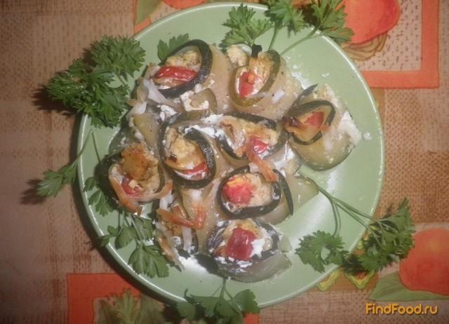 Рецепт Рулеты из кабачков рецепт с фото