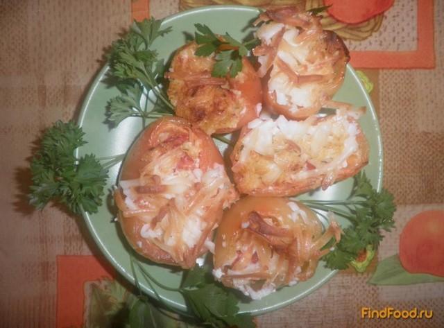 Рецепт Перец фаршированный сыром и помидорами рецепт с фото
