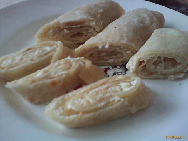 Рецепт Домашний лаваш на сковороде с начинкой рецепт с фото