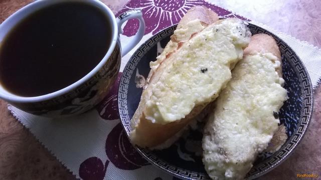 Рецепт Жаренные бутерброды с брынзой и яйцом рецепт с фото