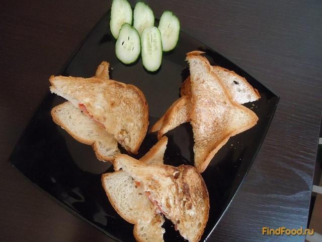 Рецепт Сэндвич на завтрак рецепт с фото