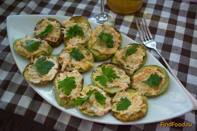 Рецепт Кабачки закусочные с морковкой рецепт с фото
