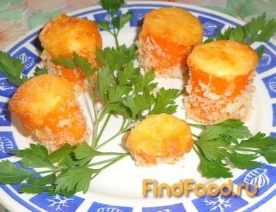 Рецепт Морковь фаршированная сыром и творогом рецепт с фото