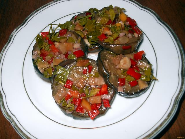 Рецепт Баклажаны соленые рецепт с фото