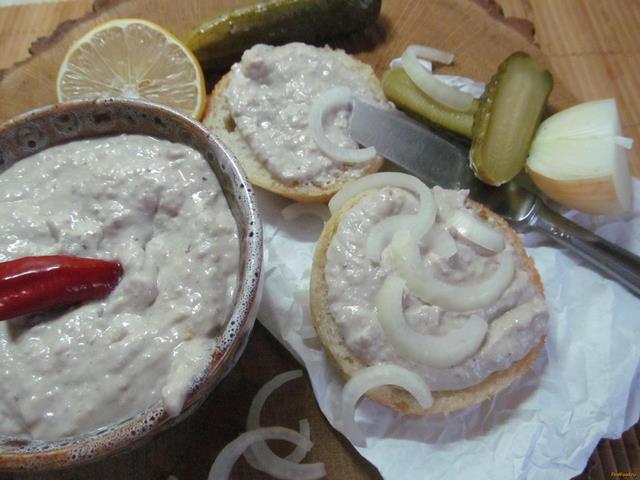 Рецепт Форшмак с орехами рецепт с фото